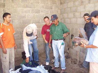 Donated Clothing