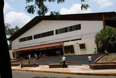 Building for National Ladies Day on Thursday May 1st at Auditorio del Instituto Pedagogico La Salle, Managua