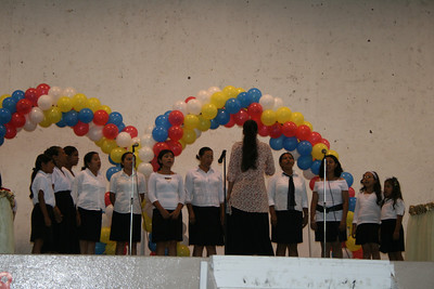 Ladies chorus from San Judas singing at National Ladies Day