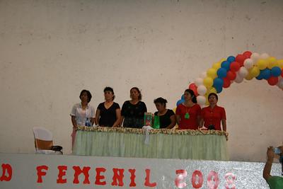 Committee coordinating & promoting the National Ladies Day. Diana Rivas, Ester Molina De Ruiz, Johana Vega, Lilliana Perez, Abigail Mercado, Mireya Perez O. (left to right)