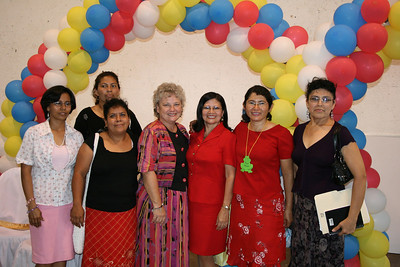 Donna with the ladies coordination committee