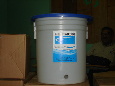 Picture of collection bucket