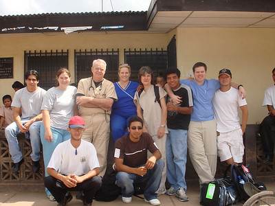 Smaller group that travled to La Rica on Wednesday