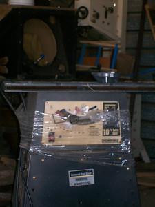 More tools for carpenter shop