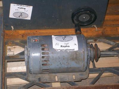Checking motor for proper operation
