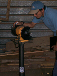 Recording serial numbers of tools for carpenter shop