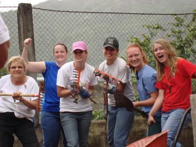 Gardening group at Casa Materna