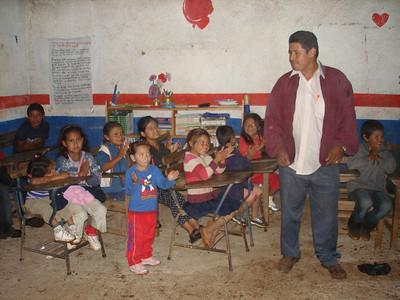 Alberto with kids at St. Inez