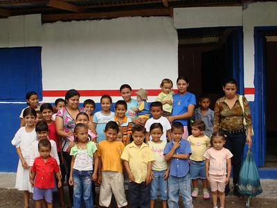 School children at Santa Barbara