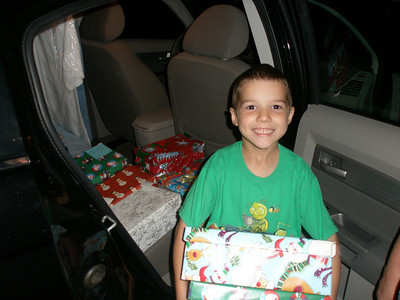 What a great way for a Smile for a Child box trip to begin.  Smiles on both ends of the trip.  You can't beat that!
