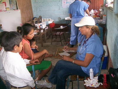 Dr Peña on Mobile Medical Clinic in La Laguna