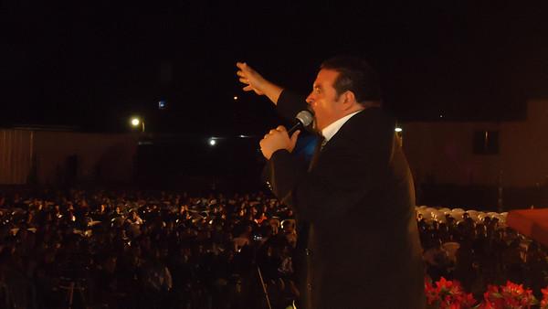 Campaña en El Salvador con Carlos Solano