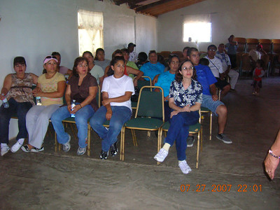 Viaje Misionero a San Telmo y Punta Banda, Baja California 2007