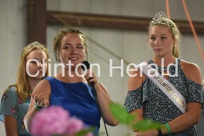 Miss Clinton County Fair Queen 7-12-18