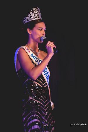 Marine Lorphelin sur scène