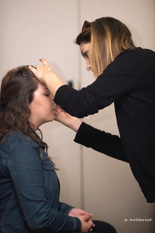 Maquillage pour l'élection miss pays d'uzès 2016