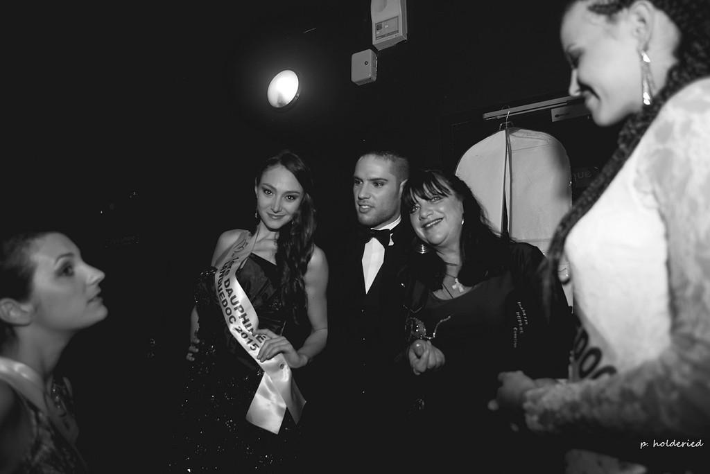 Backstage élection miss pays d'uzès 2016