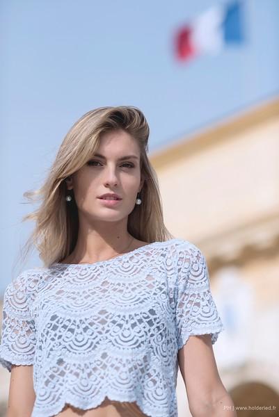 Alizée Rieu Miss Languedoc-Roussillon 2017 à Montpellier