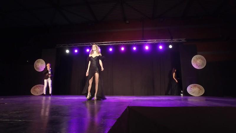 Alizée Rieu sur scène à Mèze