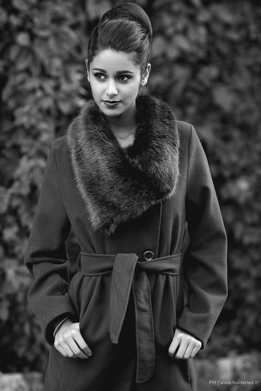 Shooting photo book modèle & mannequin / shooting en extérieur - Aurore Kichenin