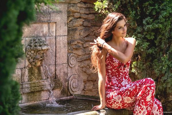 Shooting photos de Lola Brengues Miss Languedoc-Roussillon 2018