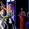 Top winners of the Miss Ma and Miss Teen, in victory celebration at the LMA in Lowell, L-R, New Miss Ma, Allissa Latham,26, of Lowell, and New Miss Teen, Lexi Woloshchuk, 18. SUN/ David H. Brow