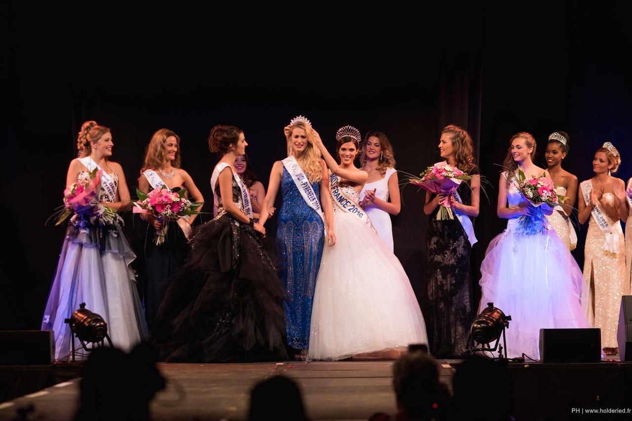 Couronnement Virginie Guillin Miss Midi-Pyrénées 2016