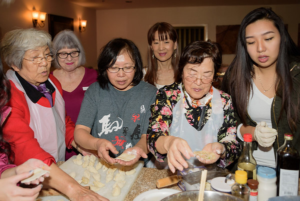 Miss Phoenix Chinese Dumpling Class Photos
