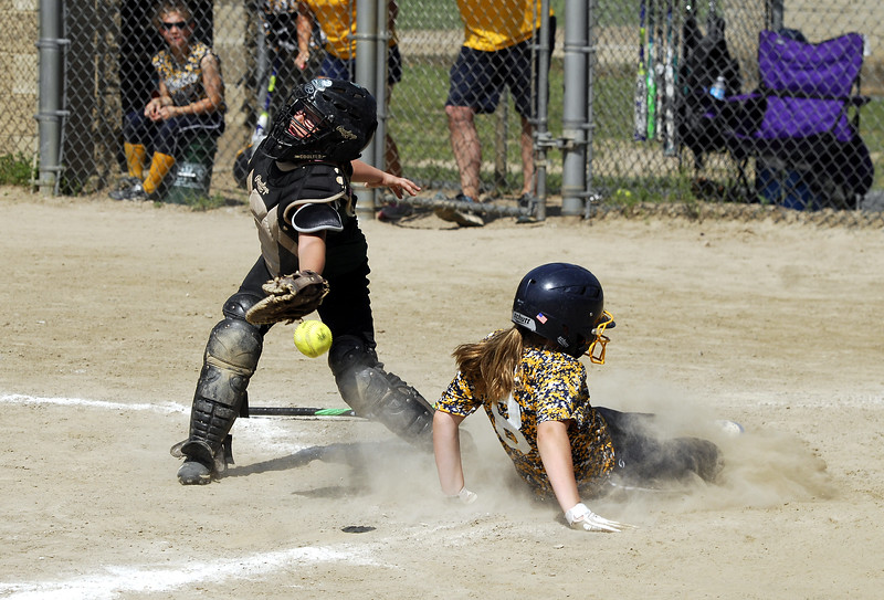 STAN HUDY - SHUDY@DIGITALFIRSTMEDIA.COM<br /> Miss Shen Thunder 10U - play at the plate