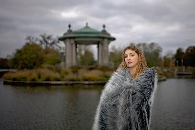 Alyssa Cross Fur-