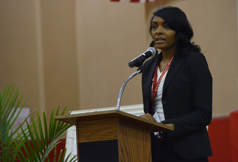 Shakebra Young, Ph.D., gives a first-hand account of poverty in the Delta