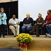 Sr. Cathy leads a panel discussion about social services and housing in Mississippi.