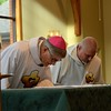 The bishop and Dn. Steve