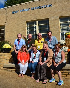 Staff from the Province Development Office in front of Holy Family