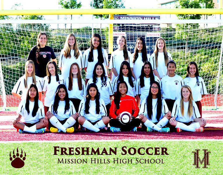 Girls Freshman Soccer