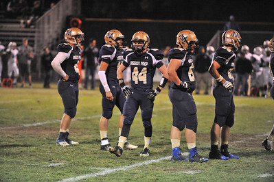 Mission Prep Varsity Football vs Linfield Christian. The Royals won 45-14. September 27, 2013. Photo by Ian Billings