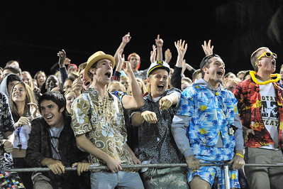 Mission Prep Varsity Football vs Linfield Christian. The Royals won 45-14. September 27, 2013. Photo by Ian Billings