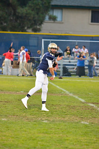 Mission College Prep Varsity Football vs Immanuel. The Royals won 35-7.  October 11, 2013. Photo by Ian Billings.
