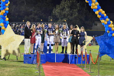The 2013-2014 Mission Prep Homecoming Court.October 11, 2013. Photo by Ian Billings.