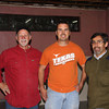 Danny, Steve and Ruben, the pastor