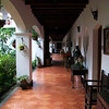 Our first night at Santo Tomas hotel in Chichicastenango