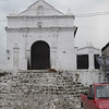 Santo Tomas church in Chichi before the market gets set up.