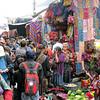 We always go to the Chichi market on Sunday.