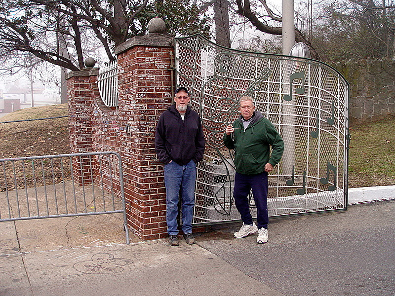 Donny Ray and Leon at Graceland