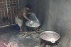 Cooking rice & beans for the feeding program at Matagapa