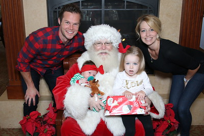 Mission Viejo Country Club Santa Photos