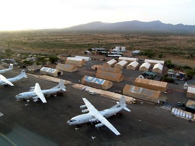 UN base in northern kenya