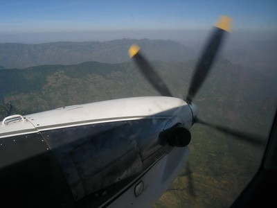 view from the DC3