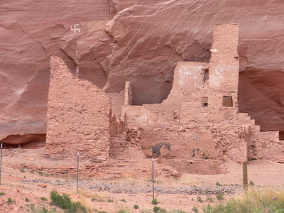 2009 Navajo Mission - Canyon de Chelly Petroglyphs