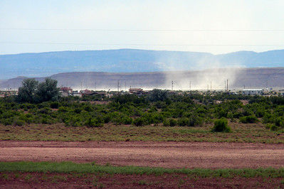 2009 Navajo Mission - Ever Present Dust Storms